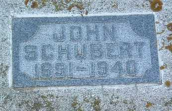 SCHUBERT, JOHN - Lyon County, Iowa | JOHN SCHUBERT
