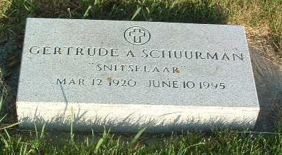 SCHUURMAN, GERTRUDE - Lyon County, Iowa | GERTRUDE SCHUURMAN