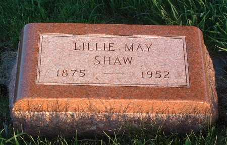 SHAW, LILLIE MAY - Lyon County, Iowa | LILLIE MAY SHAW