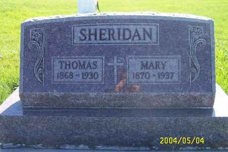 HALEY SHERIDAN, THOMAS & MARY - Lyon County, Iowa | THOMAS & MARY HALEY SHERIDAN