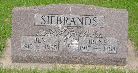 SIEBRANDS, IRENE - Lyon County, Iowa | IRENE SIEBRANDS