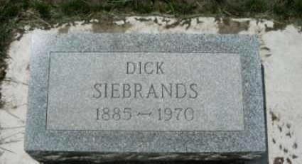 SIEBRANDS, DICK - Lyon County, Iowa | DICK SIEBRANDS