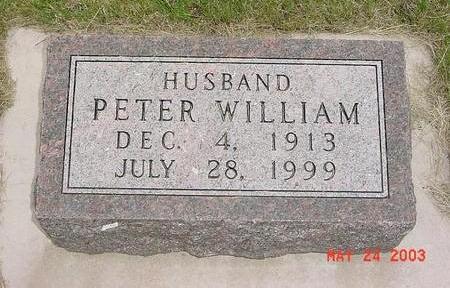 SIEBRANDS, PETER - Lyon County, Iowa | PETER SIEBRANDS