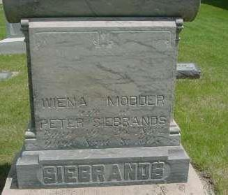 MODDER SIEBRANDS, WIENA - Lyon County, Iowa | WIENA MODDER SIEBRANDS