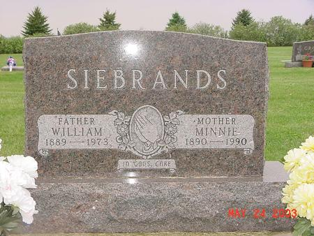 SIEBRANDS, MINNIE - Lyon County, Iowa | MINNIE SIEBRANDS