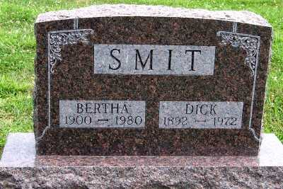 SMIT, BERTHA - Lyon County, Iowa | BERTHA SMIT