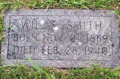 SMITH, WILLIE - Lyon County, Iowa | WILLIE SMITH