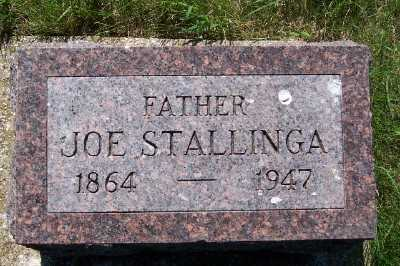 STALLINGA, JOE - Lyon County, Iowa | JOE STALLINGA