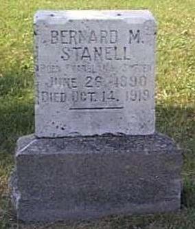 STANELL, BERNARD M. - Lyon County, Iowa | BERNARD M. STANELL