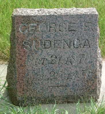 SUDENGA, GEORGE - Lyon County, Iowa | GEORGE SUDENGA