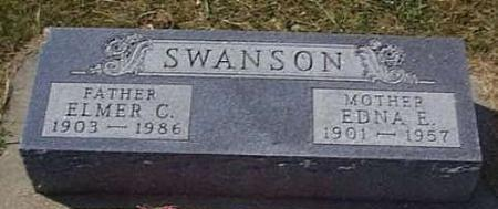 SWANSON, ELMER CORNELIUS - Lyon County, Iowa | ELMER CORNELIUS SWANSON
