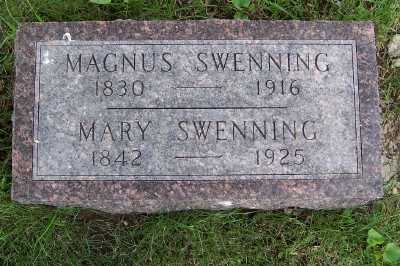 SWENNING, MARY - Lyon County, Iowa | MARY SWENNING