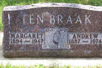 TENBRAAK, MARGARET - Lyon County, Iowa | MARGARET TENBRAAK