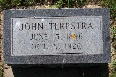 TERPSTRA, JOHN - Lyon County, Iowa | JOHN TERPSTRA