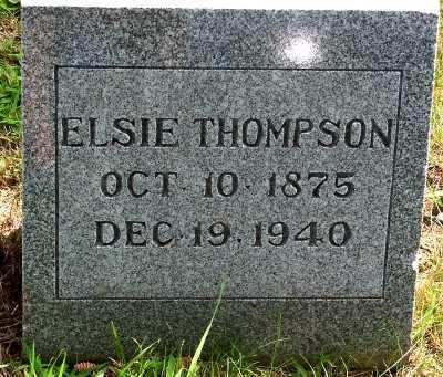 THOMPSON, ELSIE - Lyon County, Iowa | ELSIE THOMPSON