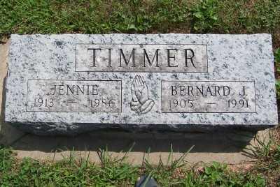 TIMMER, BERNARD J. - Lyon County, Iowa | BERNARD J. TIMMER