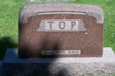 TOP, FAMILY HEADSTONE - Lyon County, Iowa | FAMILY HEADSTONE TOP