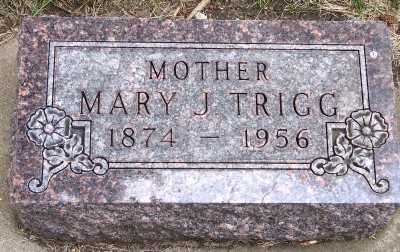 TRIGG, MARY J. - Lyon County, Iowa | MARY J. TRIGG