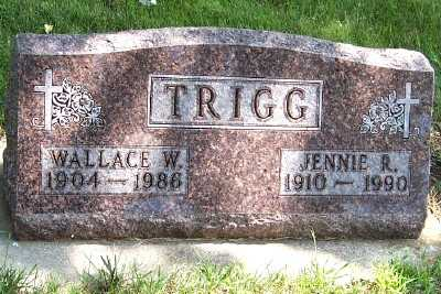 TRIGG, WALLACE W. - Lyon County, Iowa | WALLACE W. TRIGG