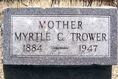 TROWER, MYRTLE C. - Lyon County, Iowa | MYRTLE C. TROWER
