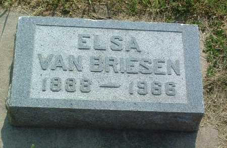 VAN BRIESEN, ELSA - Lyon County, Iowa | ELSA VAN BRIESEN