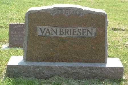 VAN BRIESEN, HEADSTONE - Lyon County, Iowa | HEADSTONE VAN BRIESEN