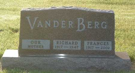 VANDER BERG, FRANCES - Lyon County, Iowa | FRANCES VANDER BERG