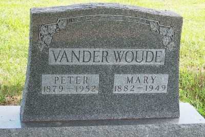 VANDERWOUDE, MARY - Lyon County, Iowa | MARY VANDERWOUDE