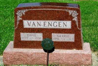 VAN ENGEN, EFFIE - Lyon County, Iowa | EFFIE VAN ENGEN
