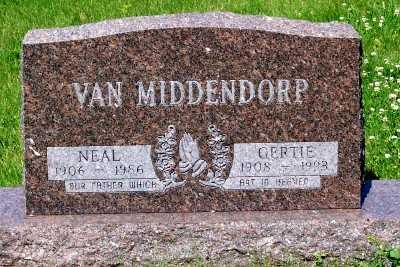 VAN MIDDENDORP, GERTIE - Lyon County, Iowa | GERTIE VAN MIDDENDORP