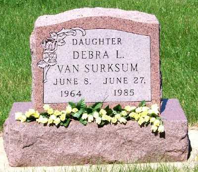 VAN SURKSUM, DEBRA L. - Lyon County, Iowa | DEBRA L. VAN SURKSUM
