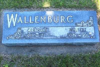 WALLENBURG, GERTRUDE - Lyon County, Iowa | GERTRUDE WALLENBURG