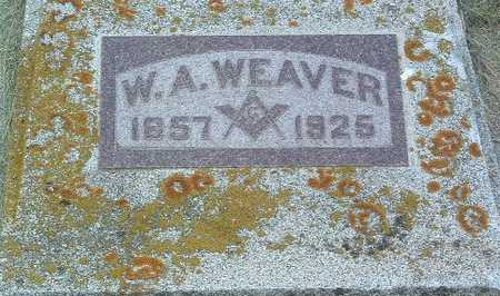 WEAVER, W.A. - Lyon County, Iowa | W.A. WEAVER