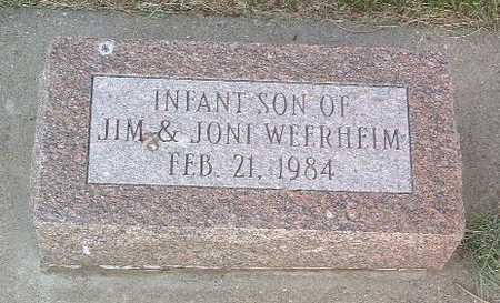 WEERHEIM, INFANT SON - Lyon County, Iowa | INFANT SON WEERHEIM