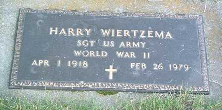 WIERTZEMA, HARRY - Lyon County, Iowa | HARRY WIERTZEMA