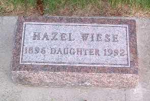 WIESE, HAZEL - Lyon County, Iowa | HAZEL WIESE