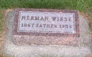 WIESE, HERMAN - Lyon County, Iowa | HERMAN WIESE