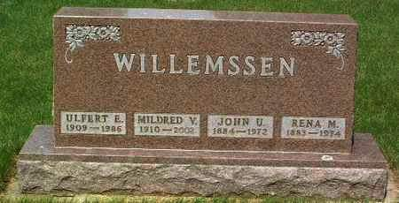 WILLEMSSEN, MILDRED V. - Lyon County, Iowa | MILDRED V. WILLEMSSEN