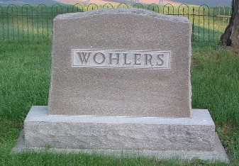 WOHLERS, FAMILY HEADSTONE - Lyon County, Iowa | FAMILY HEADSTONE WOHLERS