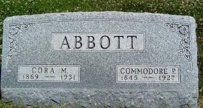 ABBOTT, COMMODORE PERRY - Madison County, Iowa | COMMODORE PERRY ABBOTT
