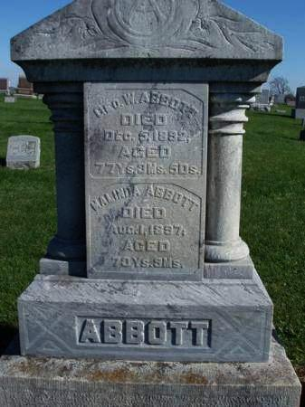 ABBOTT, GEORGE W. - Madison County, Iowa | GEORGE W. ABBOTT