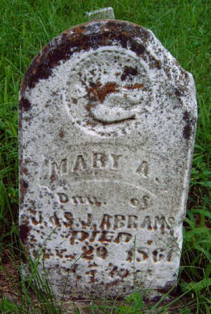 ABRAMS, MARY AGNES - Madison County, Iowa | MARY AGNES ABRAMS
