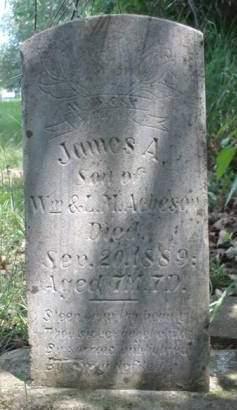 ACHESON, JAMES A. - Madison County, Iowa   JAMES A. ACHESON