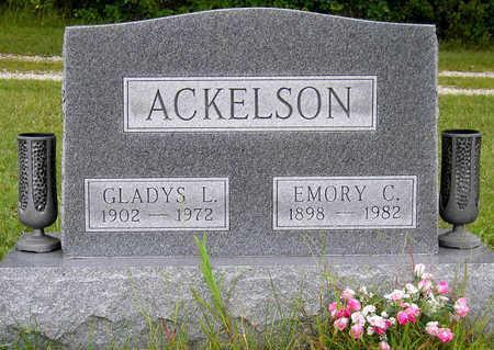 JEFFS ACKELSON, GLADYS LEONA - Madison County, Iowa | GLADYS LEONA JEFFS ACKELSON