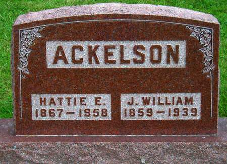 ACKELSON, HARRIET EMABELLE (HATTIE) - Madison County, Iowa | HARRIET EMABELLE (HATTIE) ACKELSON
