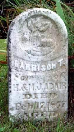 ADAIR, HARRISON T. - Madison County, Iowa | HARRISON T. ADAIR