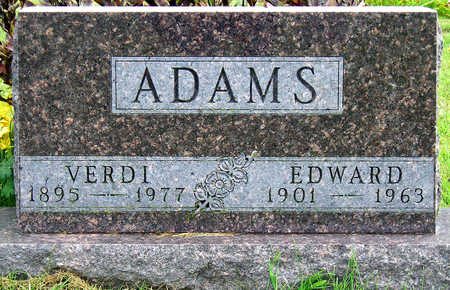 ADAMS, VERDI RUBY - Madison County, Iowa | VERDI RUBY ADAMS