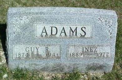 HOLLAND ADAMS, INEZ - Madison County, Iowa | INEZ HOLLAND ADAMS