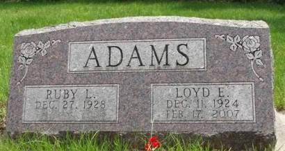 ADAMS, RUBY L. - Madison County, Iowa | RUBY L. ADAMS