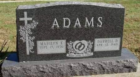 ADAMS, DARRELL D - Madison County, Iowa | DARRELL D ADAMS